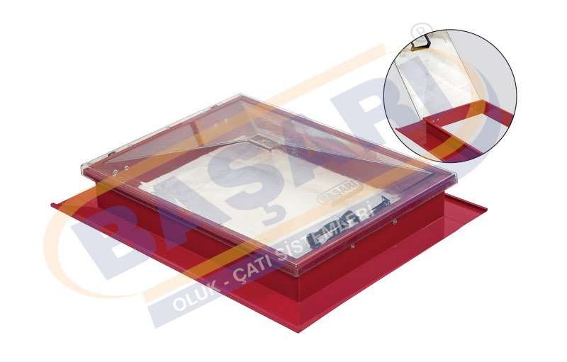 Roof Exit Cover for Sandwich Panel Roof (5-pitch PVC)