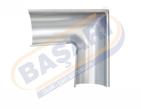 Galvanized Gutter T-elbow (right)